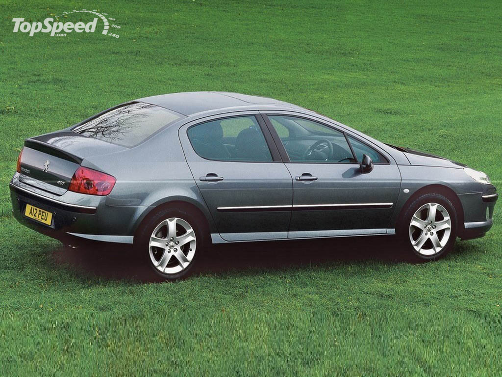 2004 peugeot 407 picture 12370 car review top speed. Black Bedroom Furniture Sets. Home Design Ideas