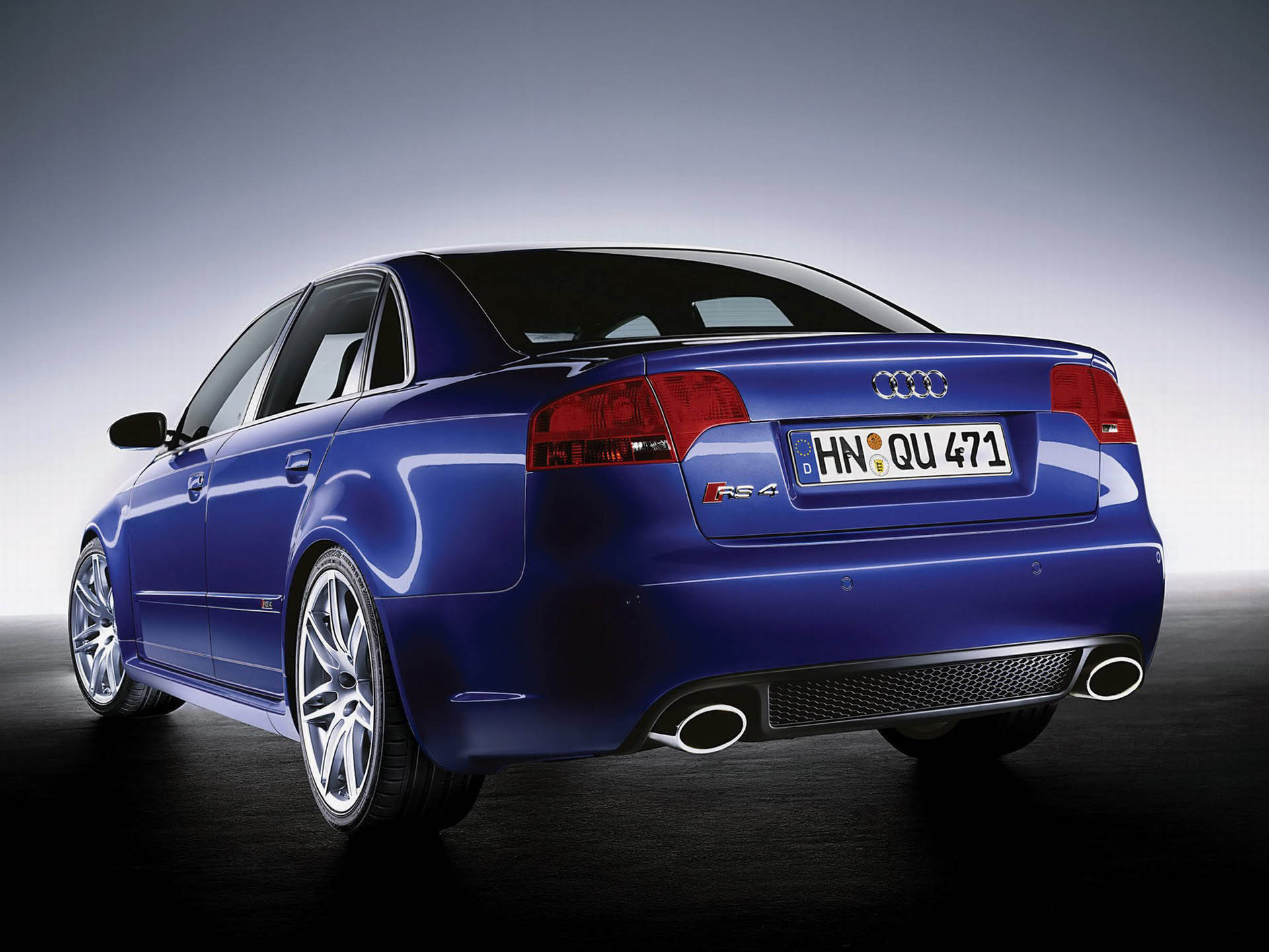 2005 Audi RS4 | Top Speed
