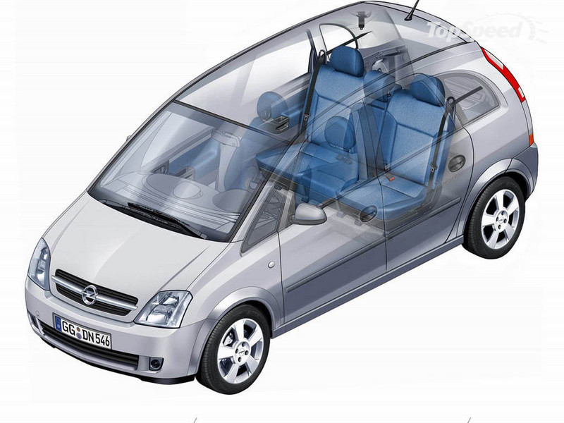 2005 opel meriva picture 12107 car review top speed. Black Bedroom Furniture Sets. Home Design Ideas