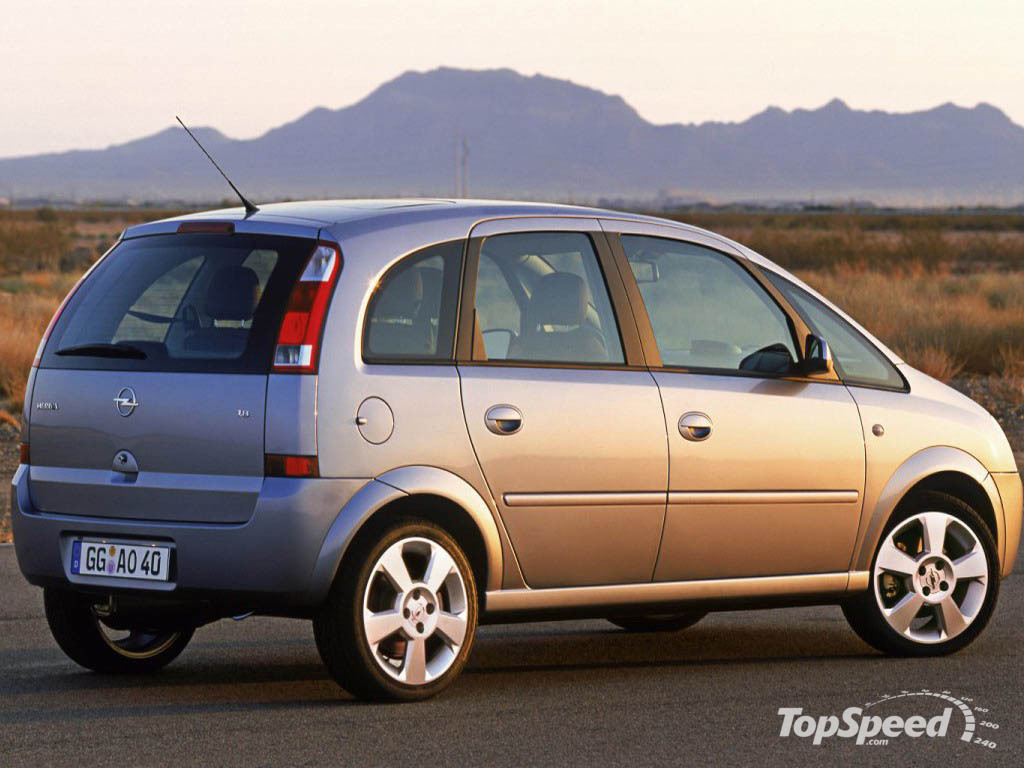 2005 opel meriva picture 12095 car review top speed. Black Bedroom Furniture Sets. Home Design Ideas