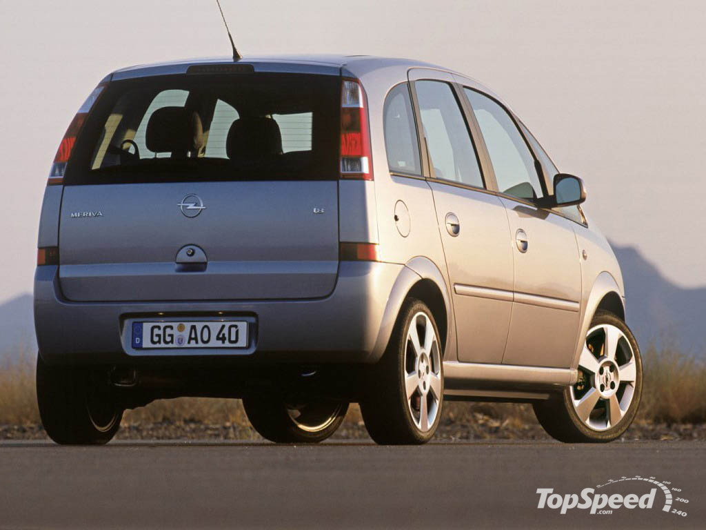 2005 opel meriva picture 12096 car review top speed. Black Bedroom Furniture Sets. Home Design Ideas