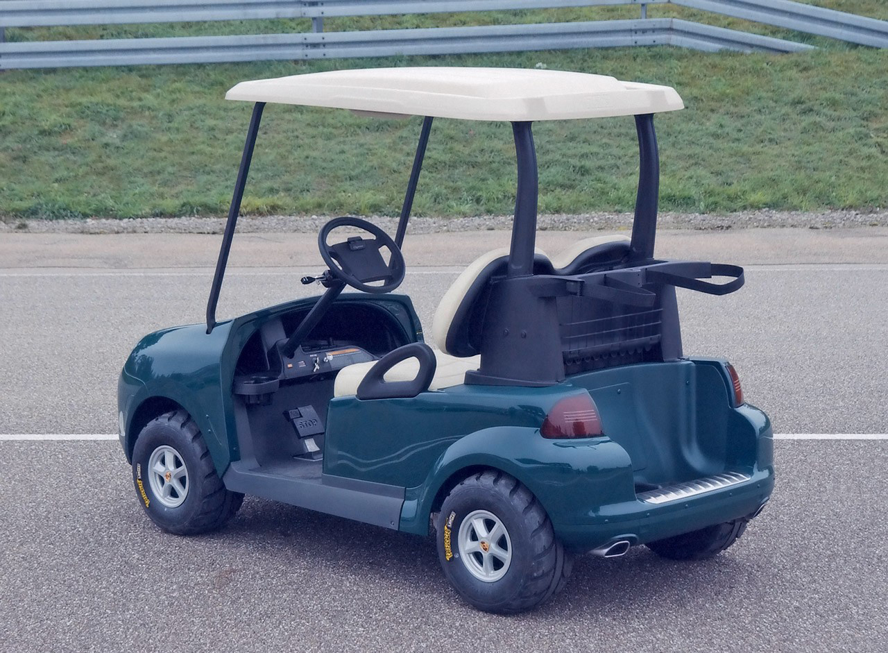 2005 Porsche Miniature Cayenne Prototype Golfcart | Top Sd on