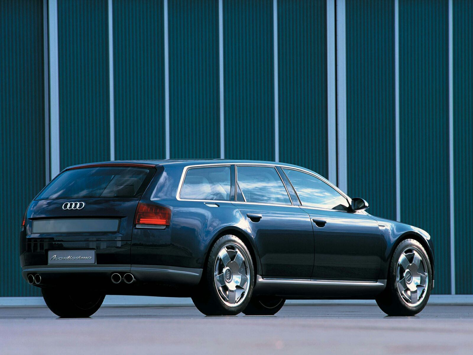 Toyota Station Wagon >> 2001 Audi Avantissimo | Top Speed