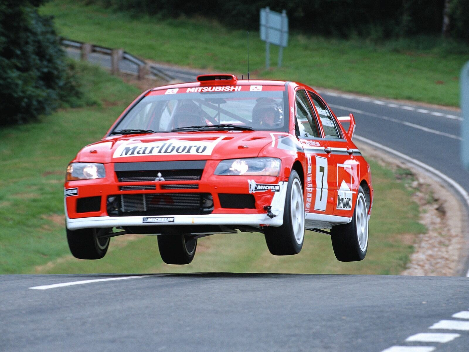 2003 Mitsubishi Lancer Evolution WRC Review - Top Speed