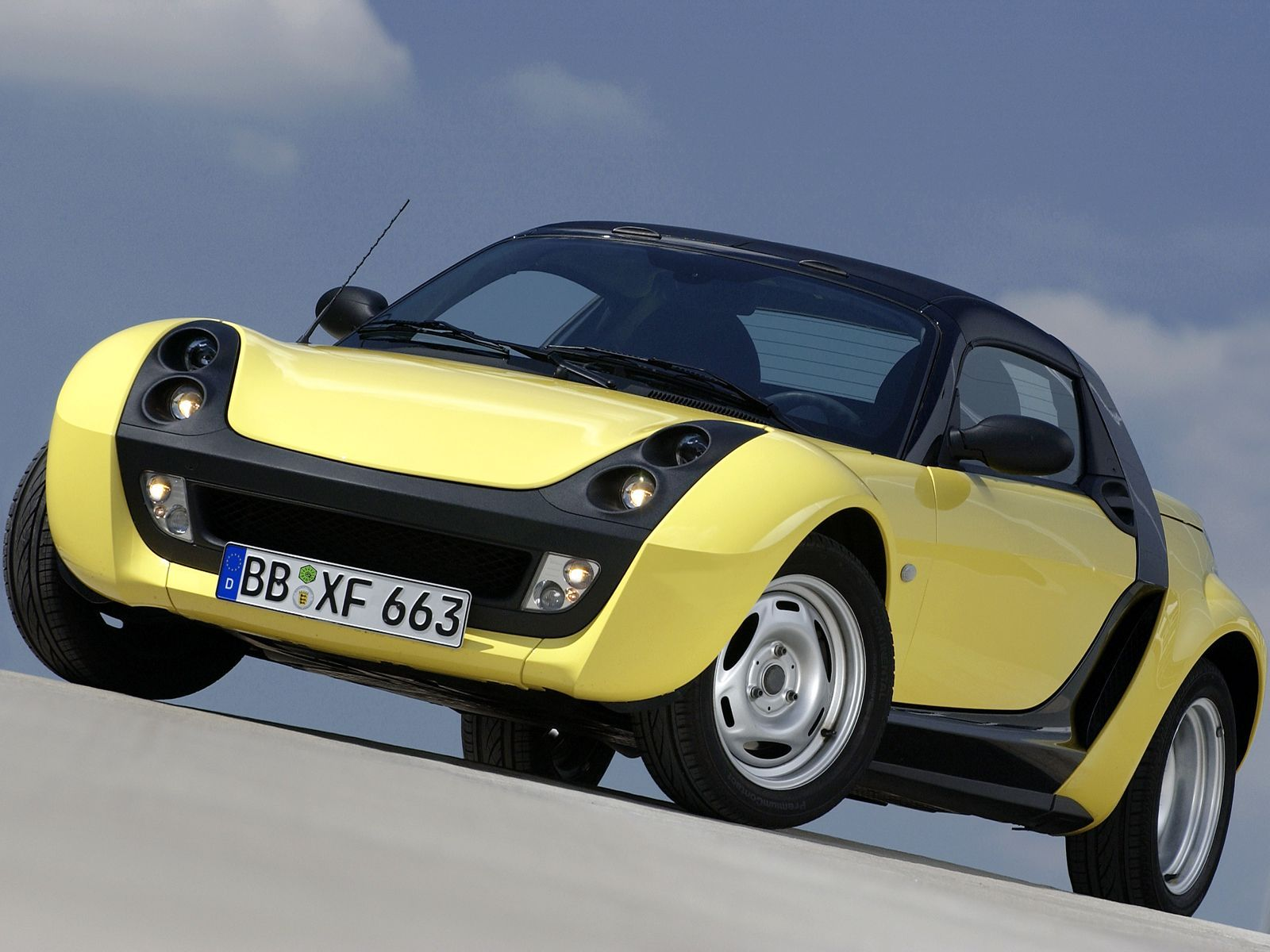 2003 Smart Roadster Top Speed