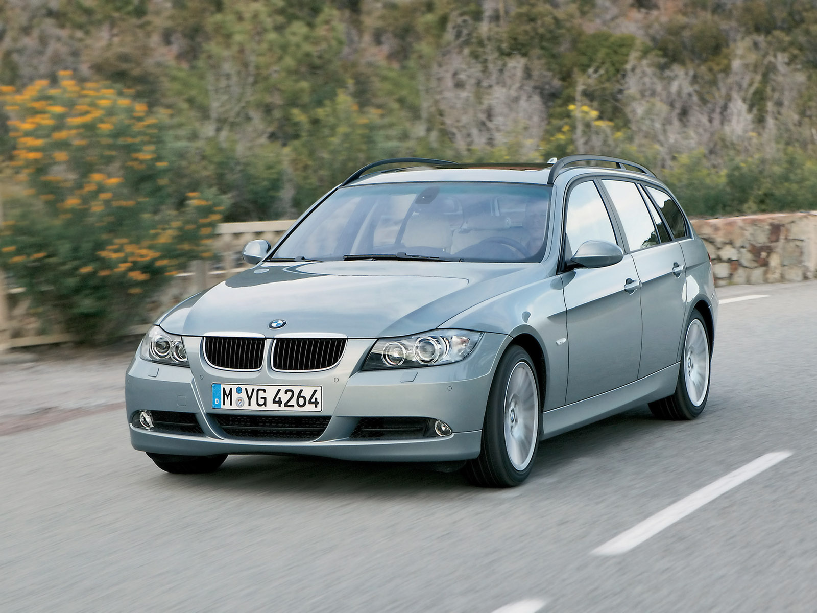 2006 BMW 3 Series Sports Wagon Review - Top Speed
