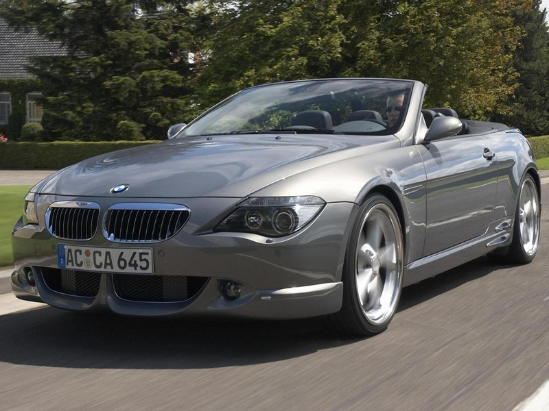 2004 Bmw Acs6 E64 Cabriolet By Ac Schnitzer Top Speed