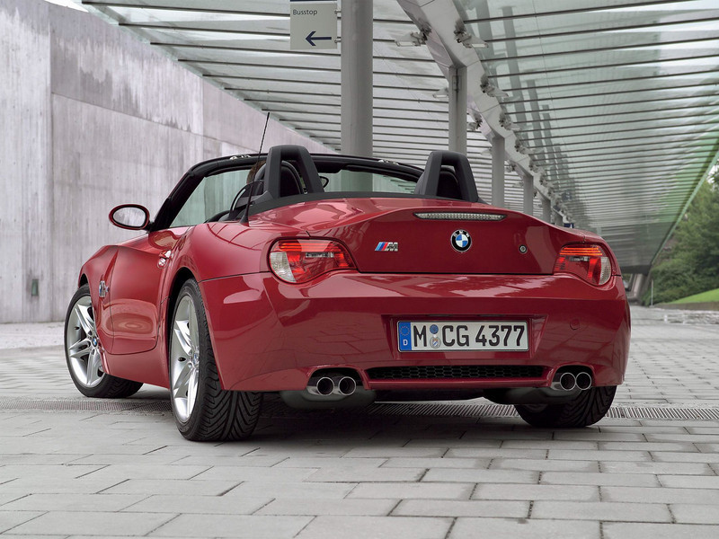 2006 Bmw Z4 M Roadster Top Speed