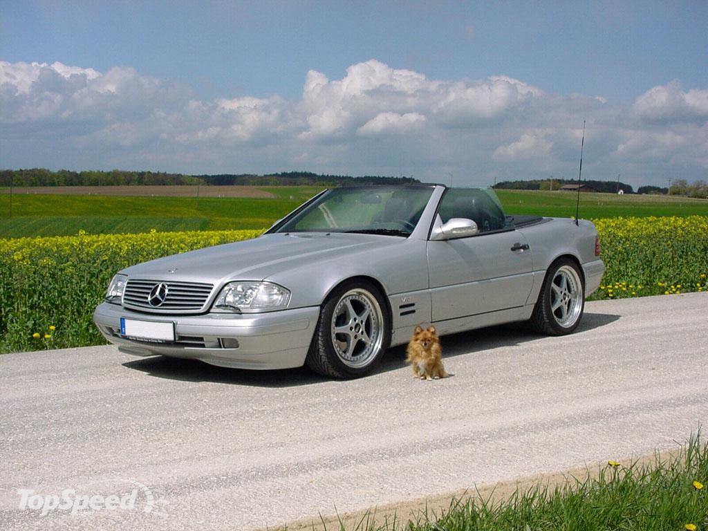 1989 - 2003 Mercedes SL-Class (W129) | car review @ Top Speed