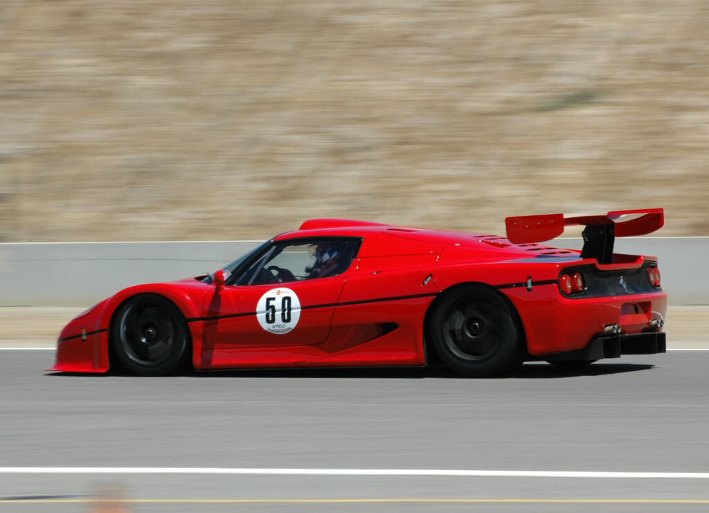 1996 Ferrari F50 Gt Top Speed