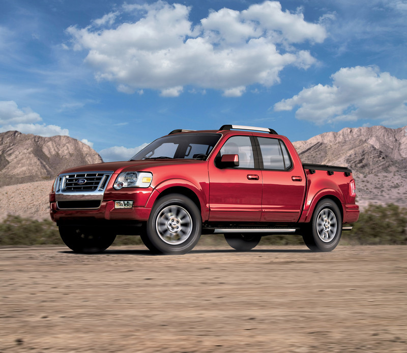 2006 Ford Explorer Sport Trac Top Speed