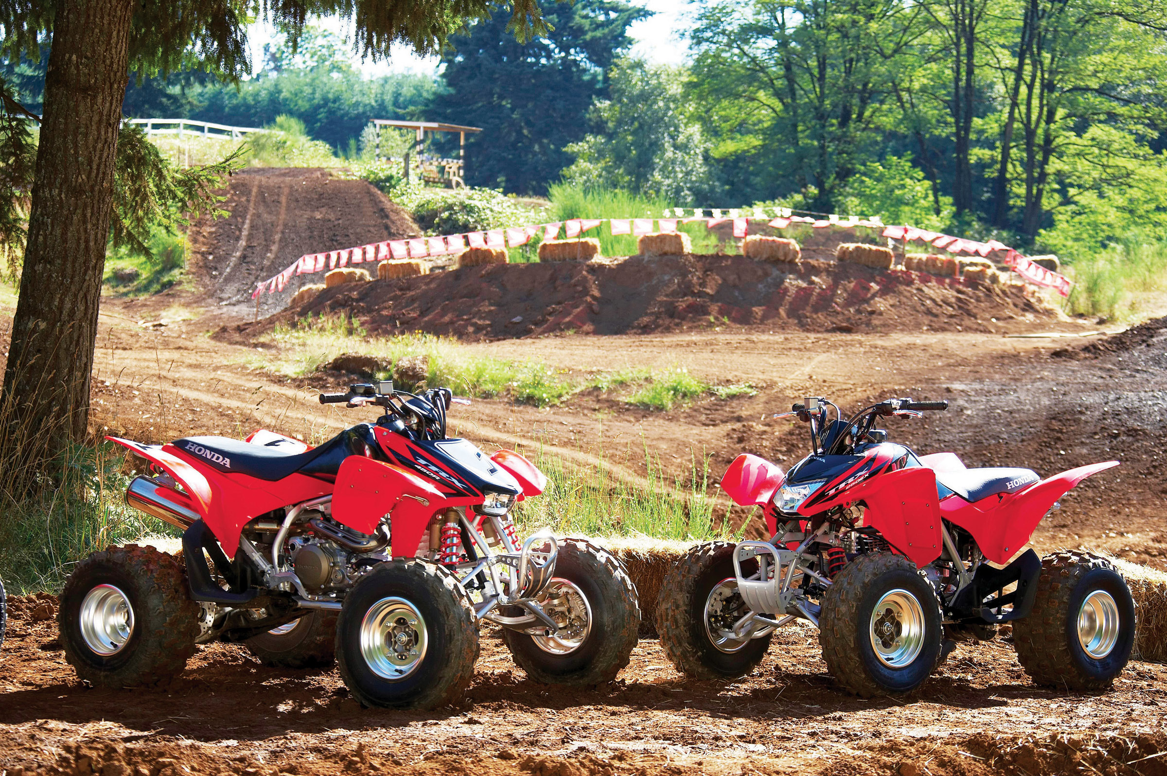 2006 Honda TRX450R ( Kick Start ) | Top Speed