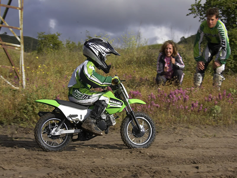 2006 Kawasaki KDX 50 | Top Speed
