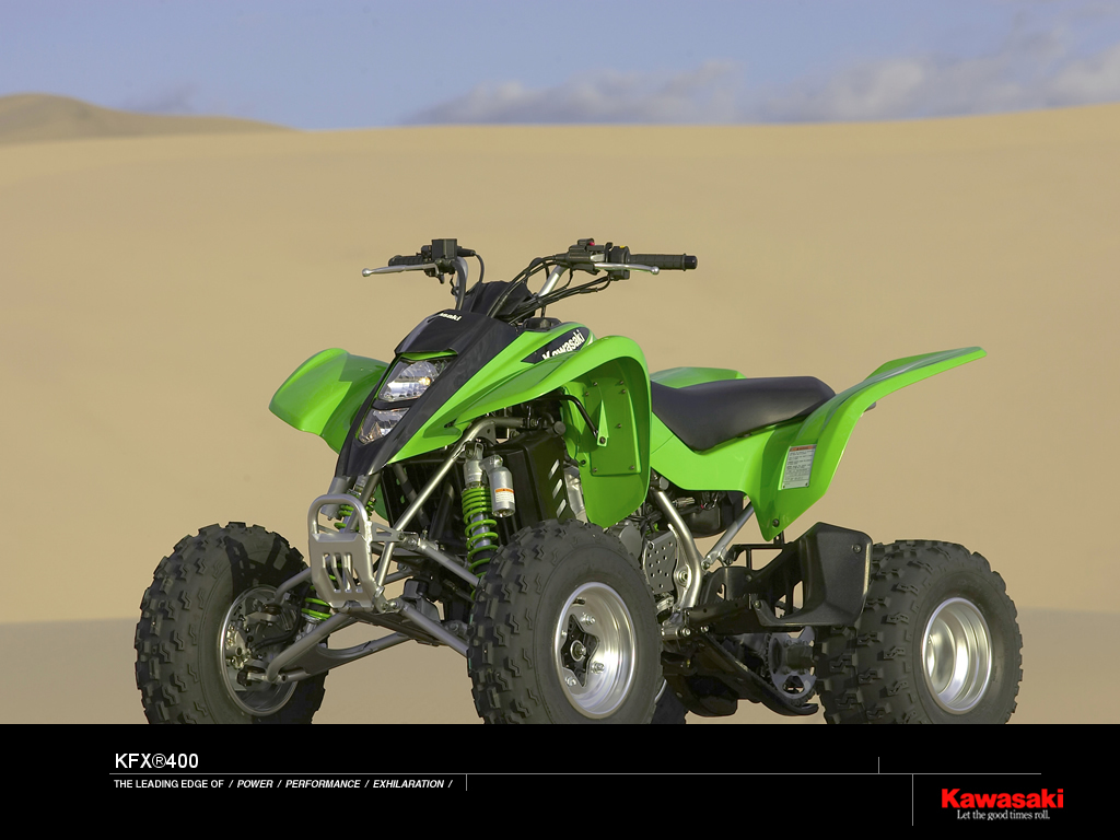 2006 Kawasaki KFX 400 | Top Speed. »