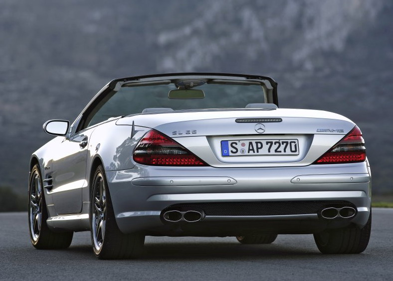 2006 Mercedes Benz SL 55 AMG And SL 65 AMG   Top Speed