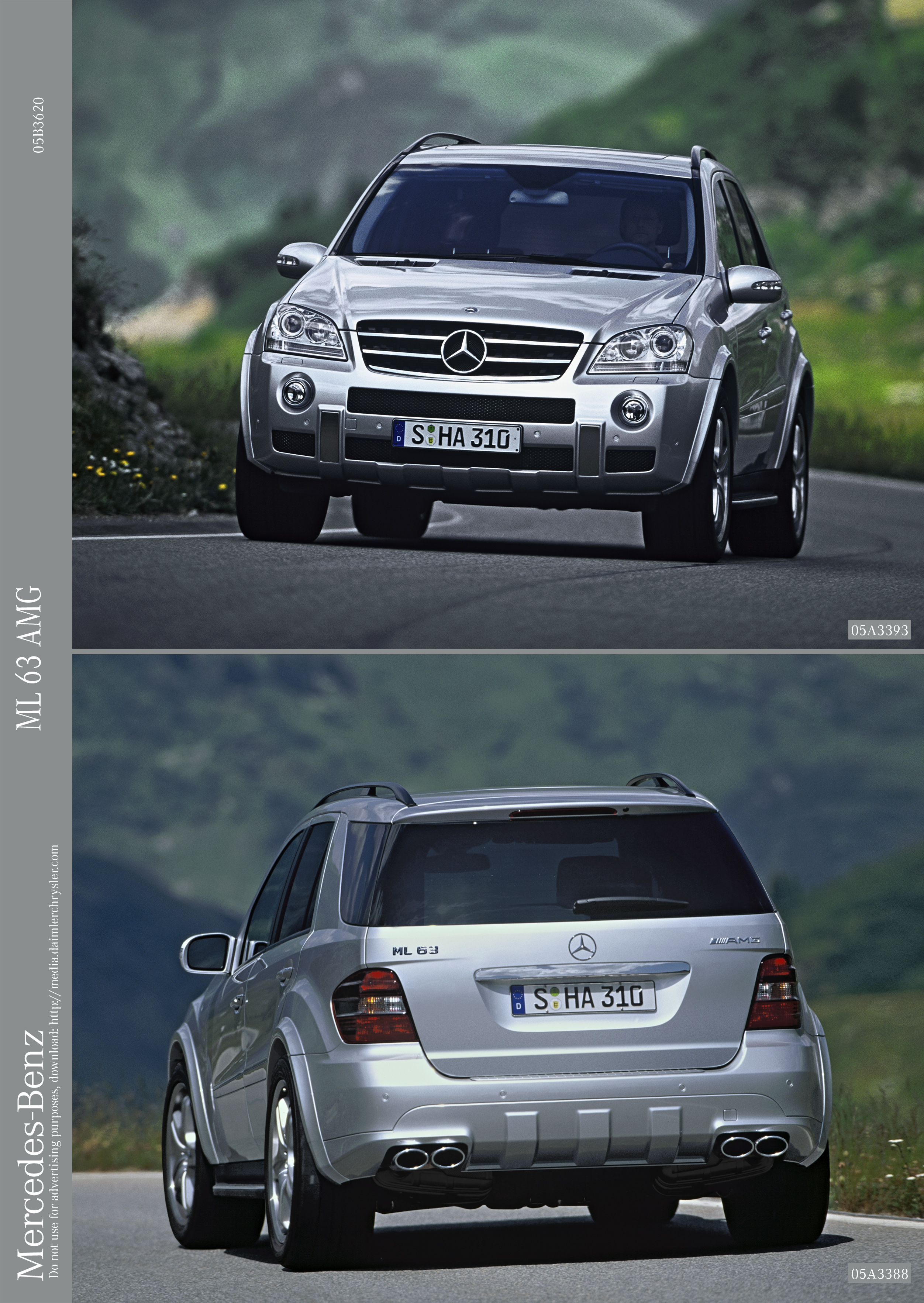2006 Mercedes R63 AMG And ML63 AMG Gallery 39843 | Top Speed