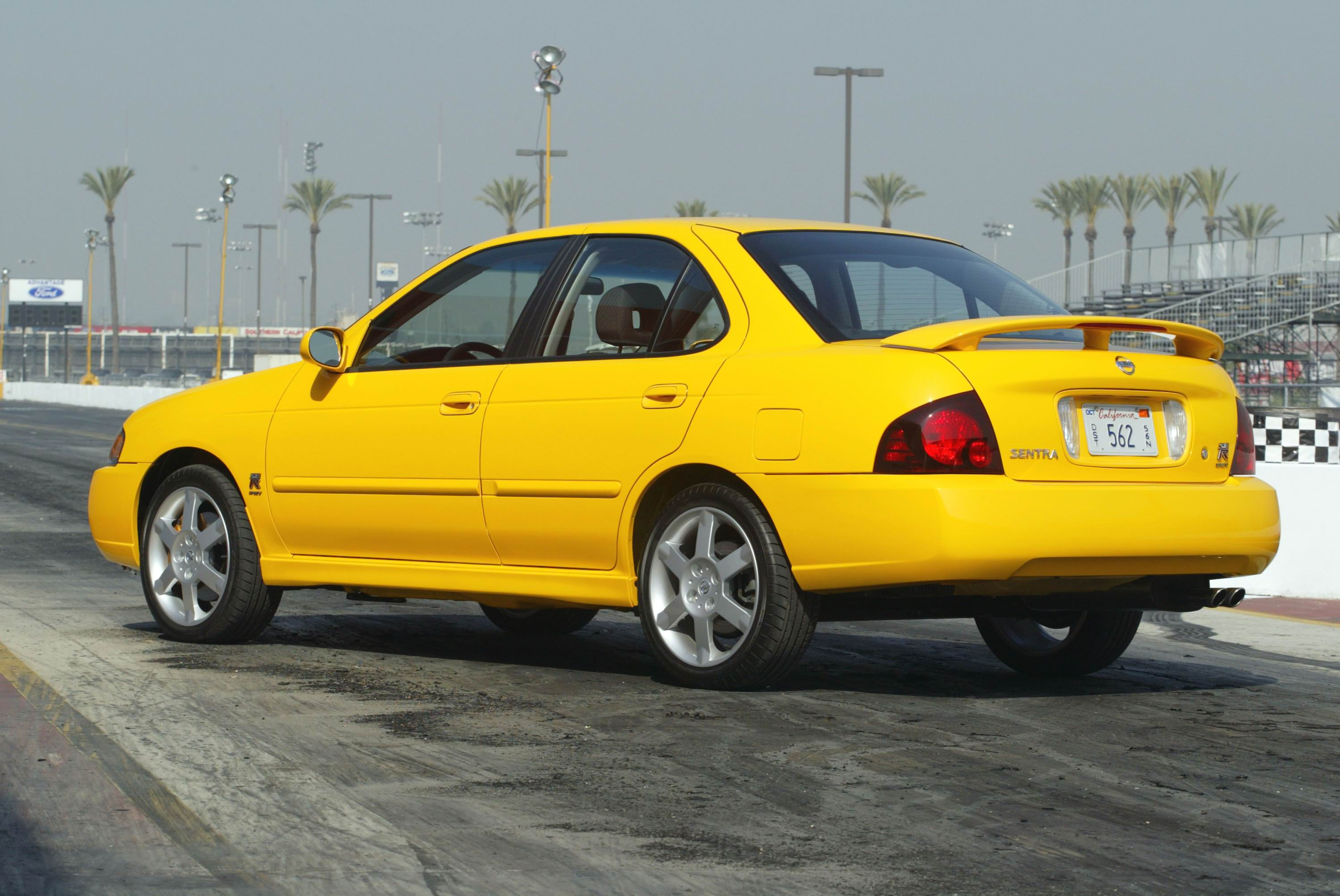 2006 nissan sentra se-r | top speed