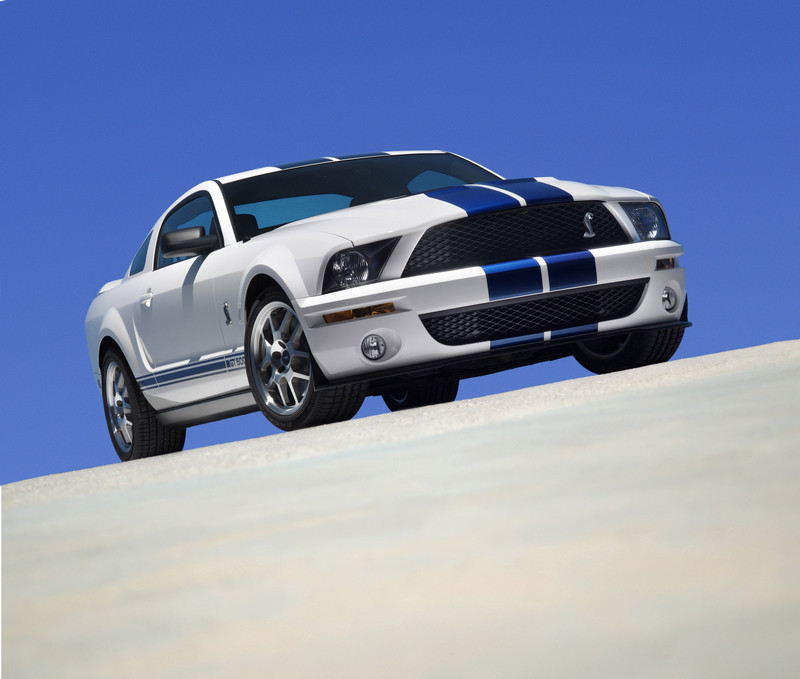 2006 mustang shelby gt500 hp