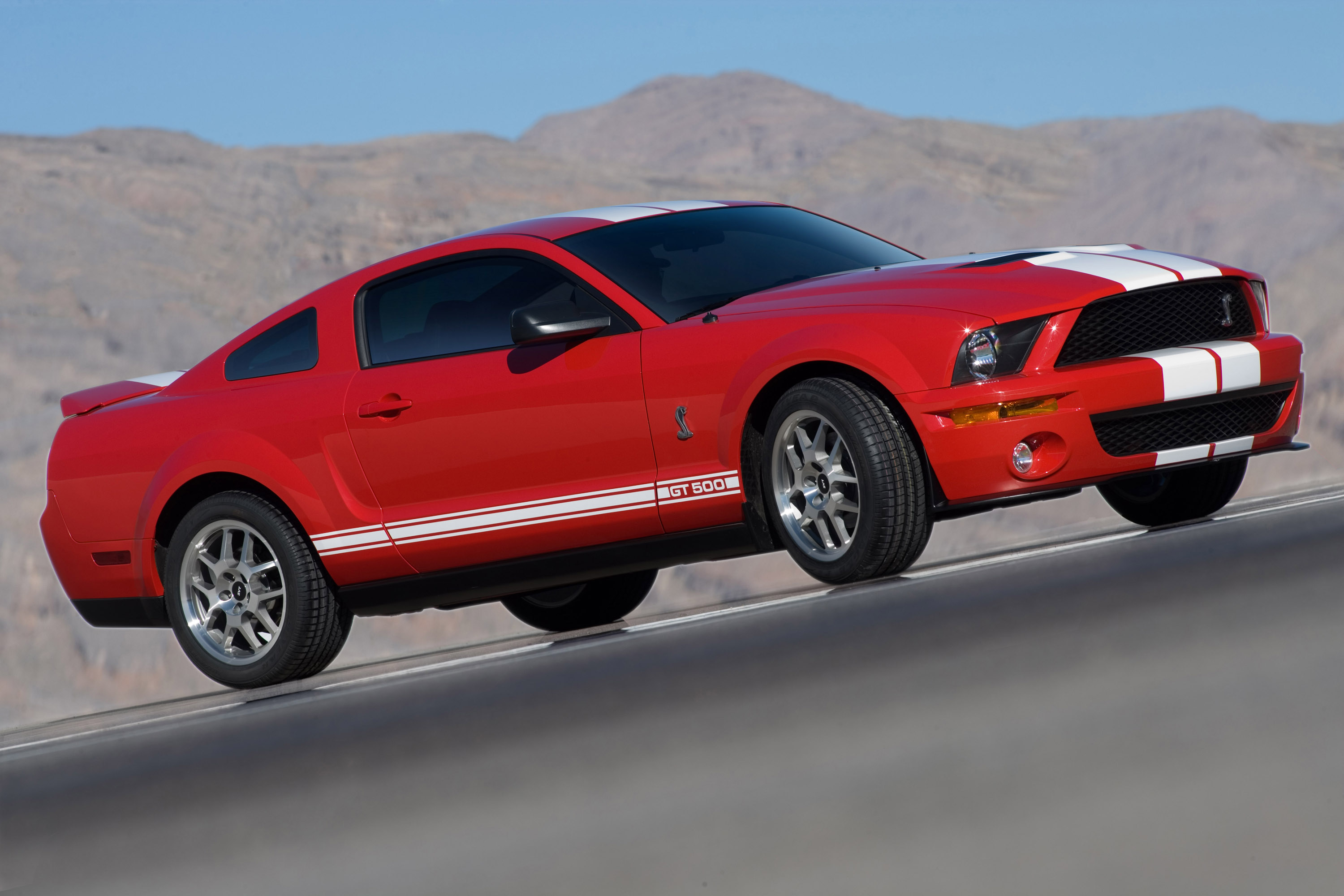 2007 Ford Mustang Shelby GT500 | Top Speed