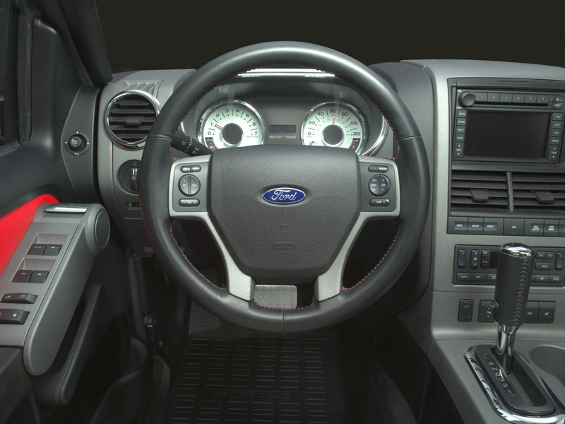 2007 Ford Sport Trac Adrenalin Top Speed