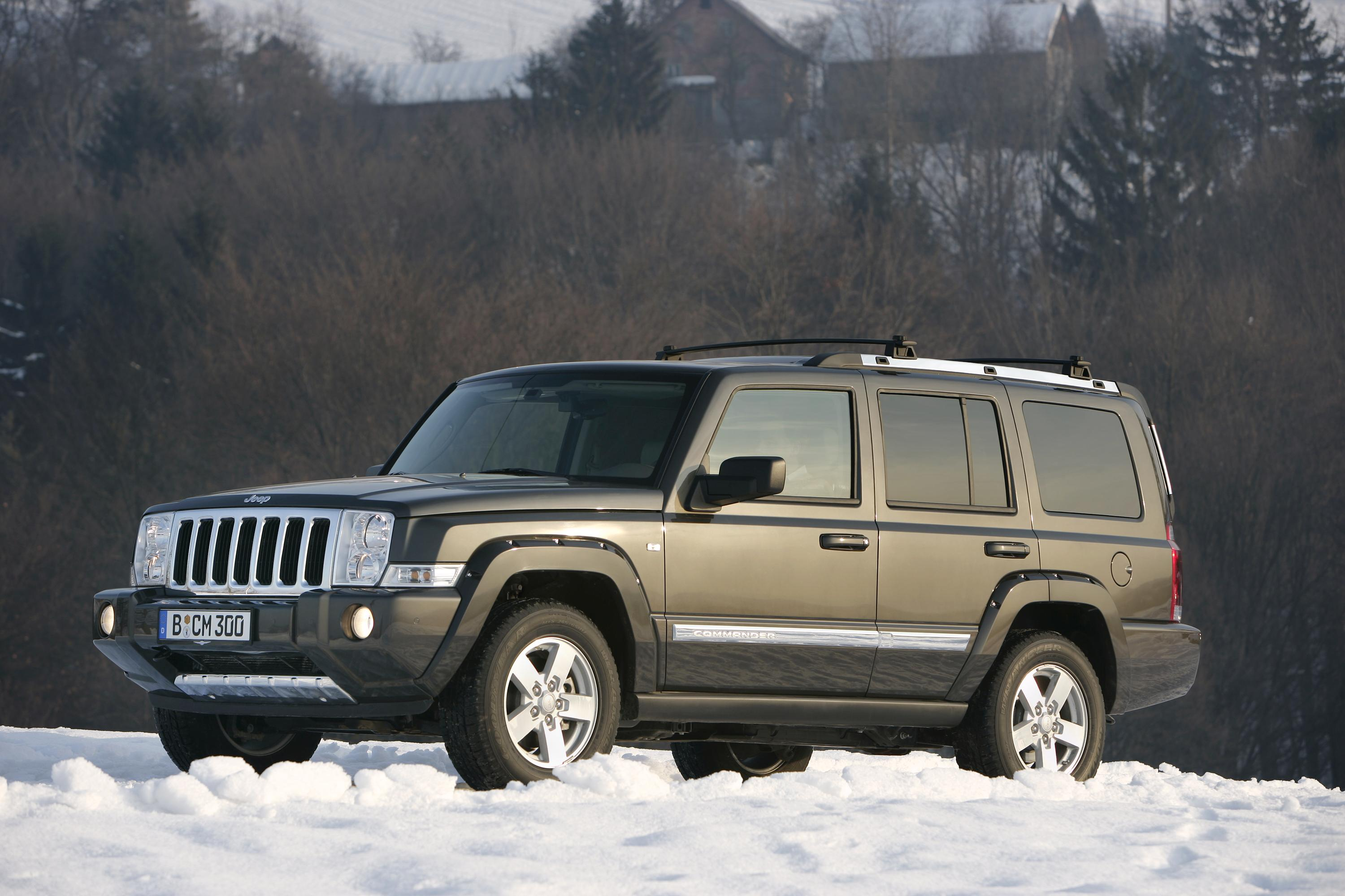 2007 jeep commander review - top speed