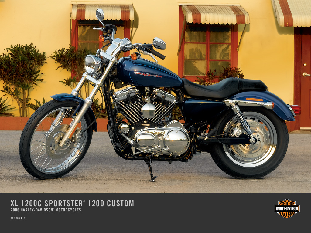 2006 harley davidson xl 1200c sportster 1200 custom review. Black Bedroom Furniture Sets. Home Design Ideas
