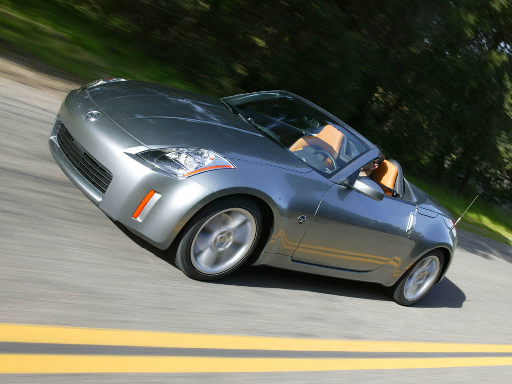 2004 Nissan 350Z Coupe >> 2006 Nissan 350Z Roadster Review - Top Speed