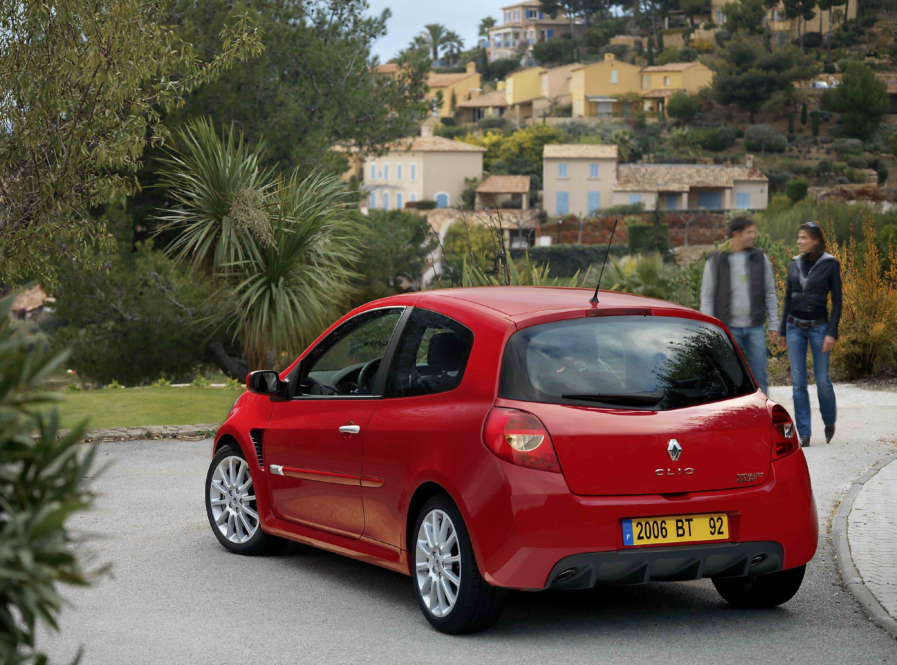 2007 Renault Clio Rs Top Speed