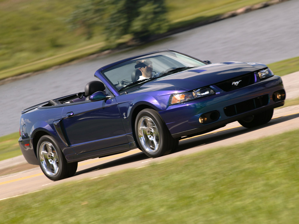 2003 2004 ford svt mustang cobra top speed