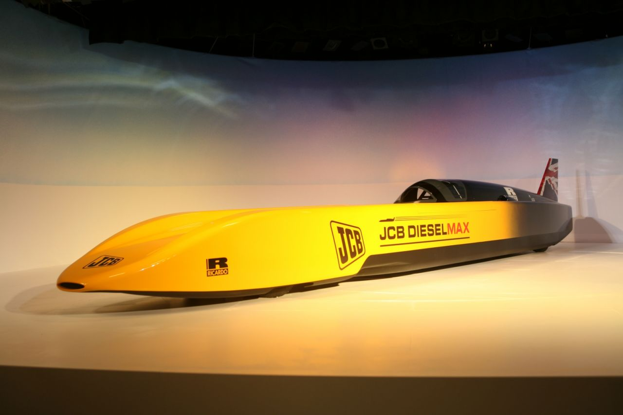 Land Speed Record >> Jcb Targets New Diesel Land Speed Record | Top Speed