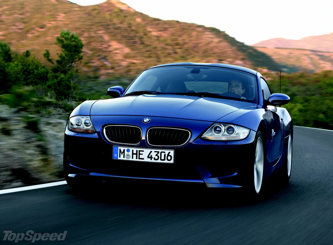 Production Of Z4 Coupe Begins Top Speed
