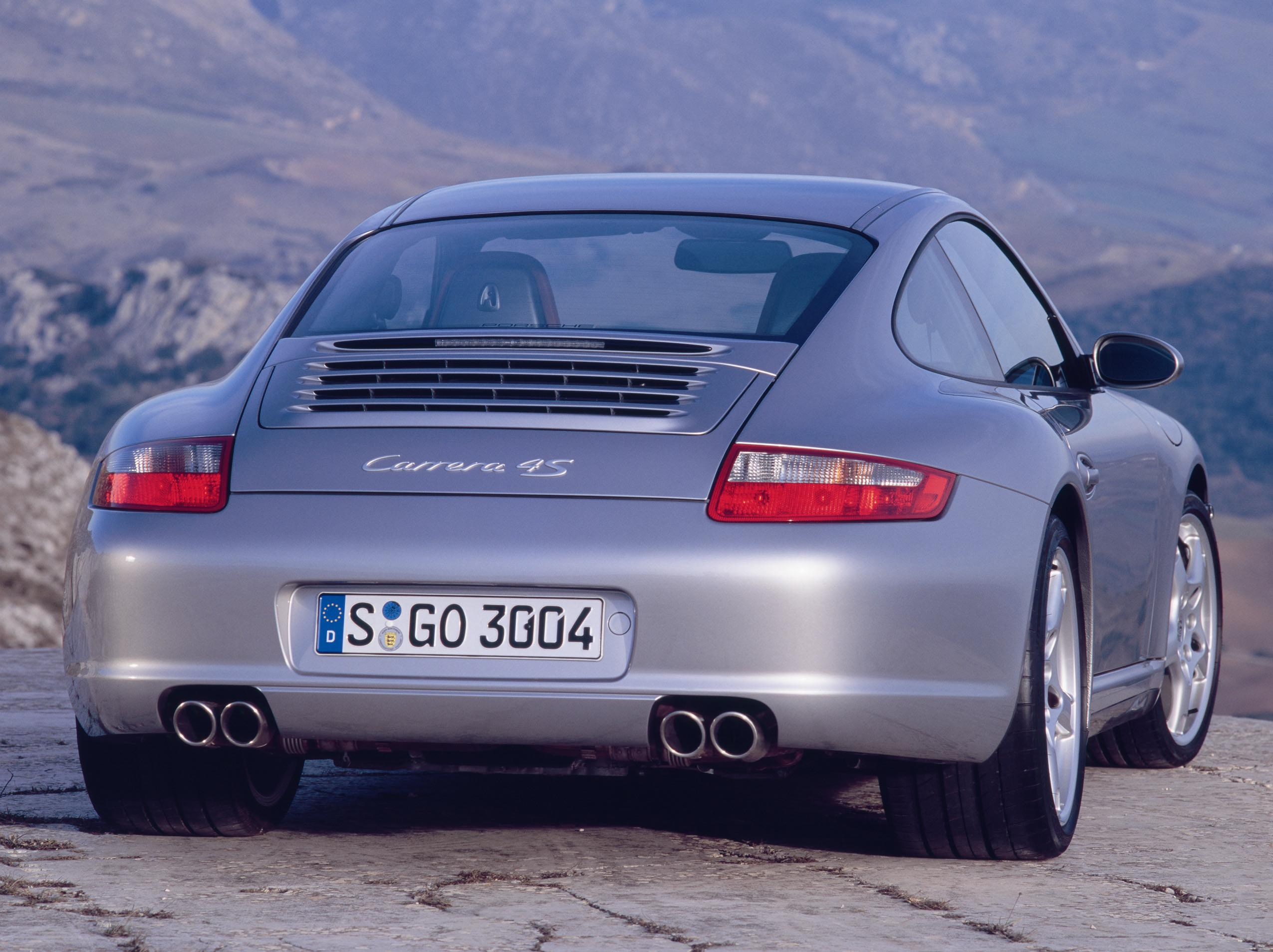 2005 Porsche 911 Carrera 4s 997 Top Speed