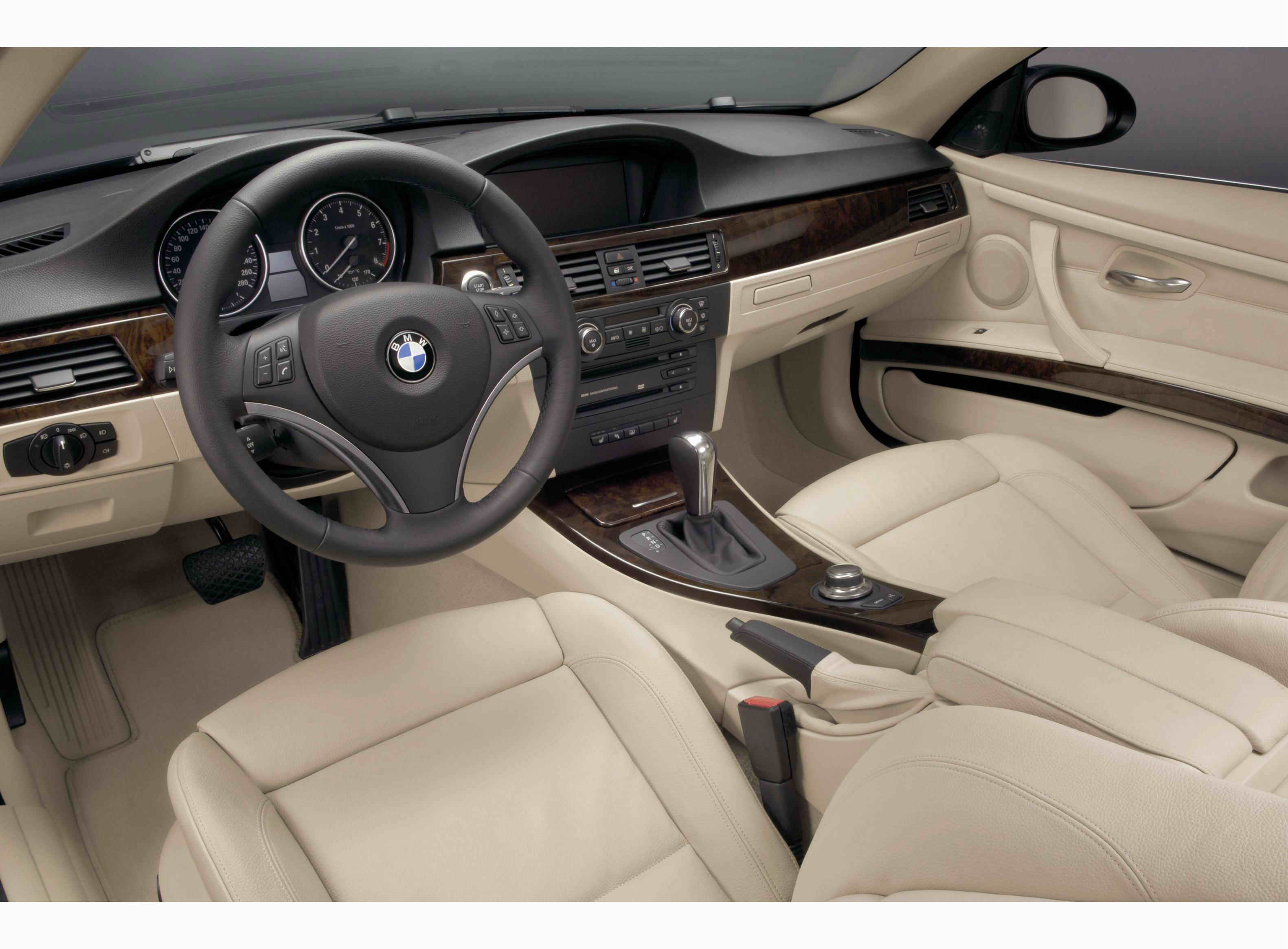 2007 bmw 335i coupe interior