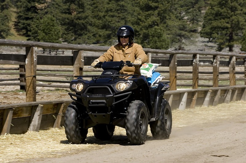 2006 Kawasaki Brute Force 650 4x4i Top Speed