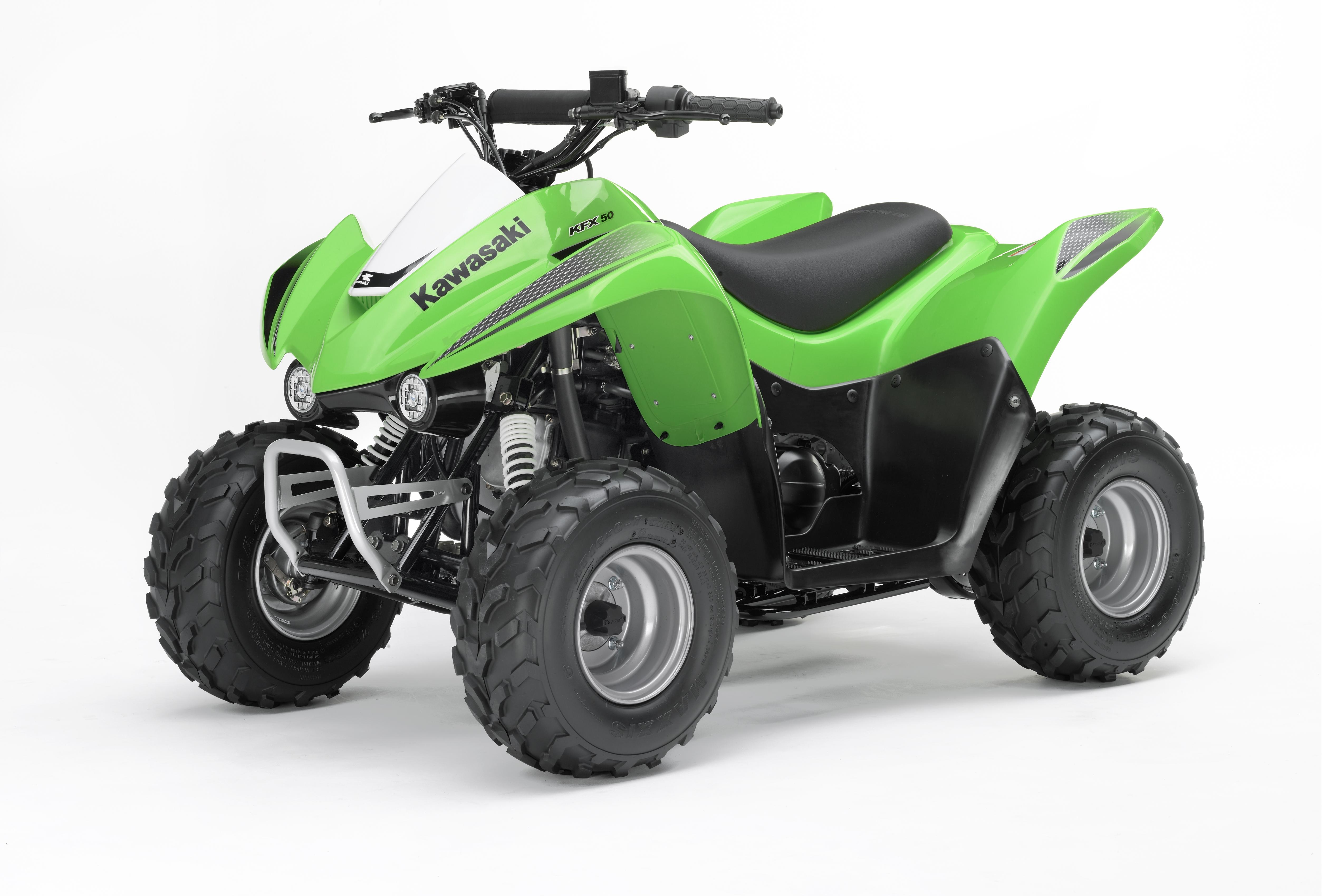 2006 Kawasaki KFX50 | Top Speed. »