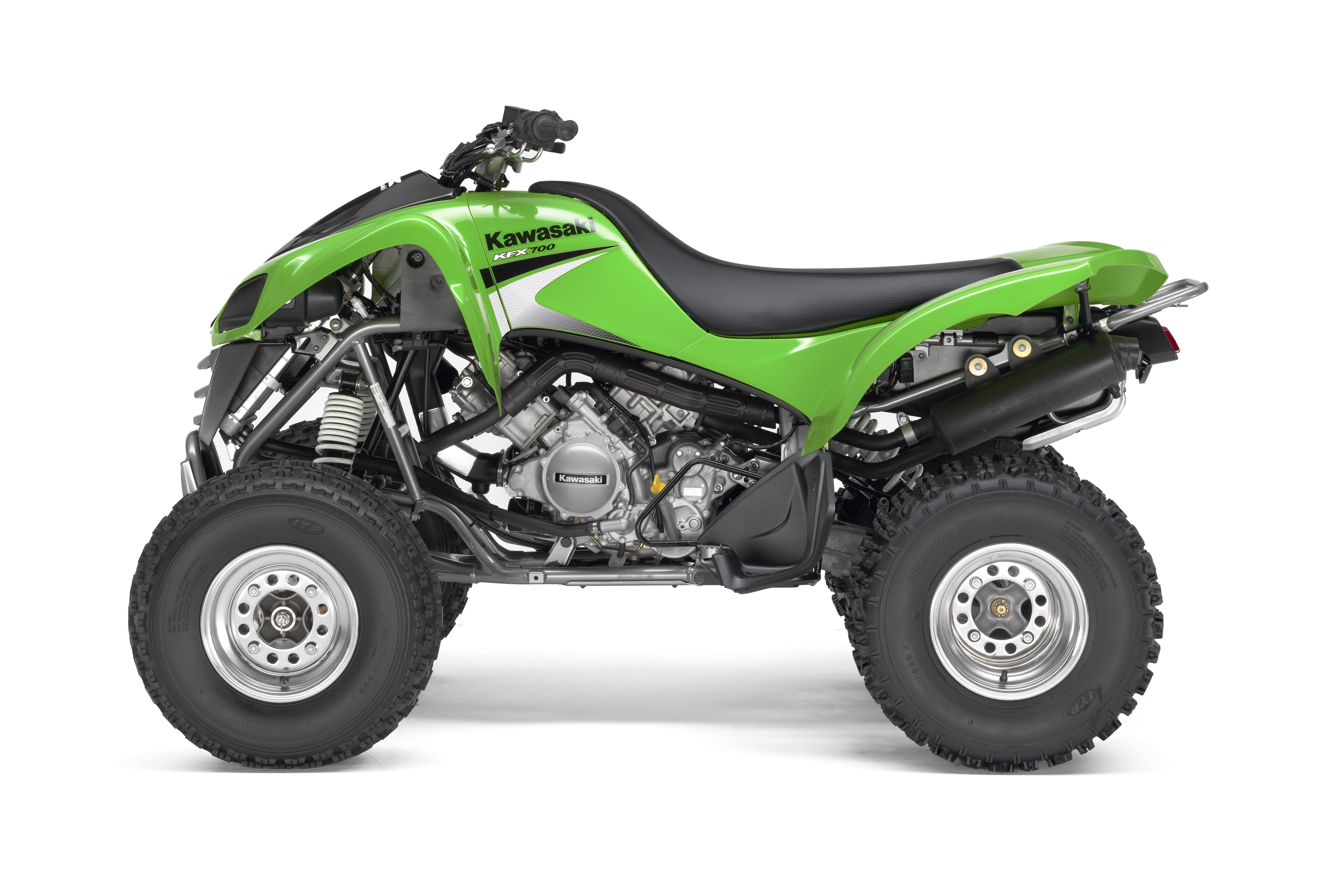 2006 Kawasaki KFX700 | Top Speed. »