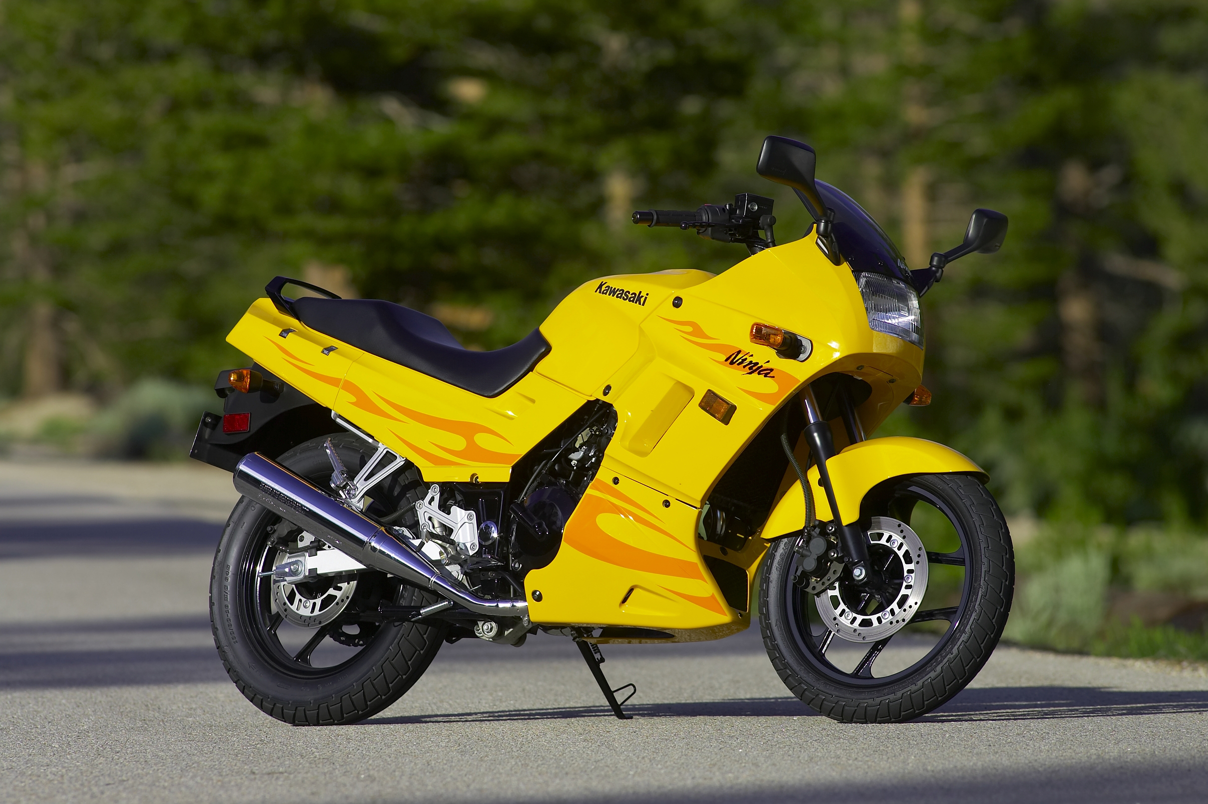 Kawasaki Ninja Black And Yellow
