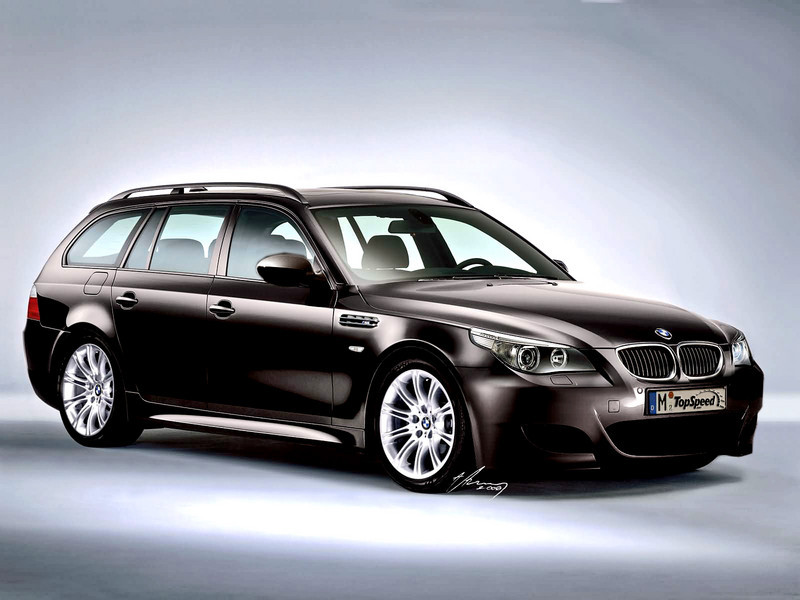 2007 bmw m5 touring preview top speed. Black Bedroom Furniture Sets. Home Design Ideas