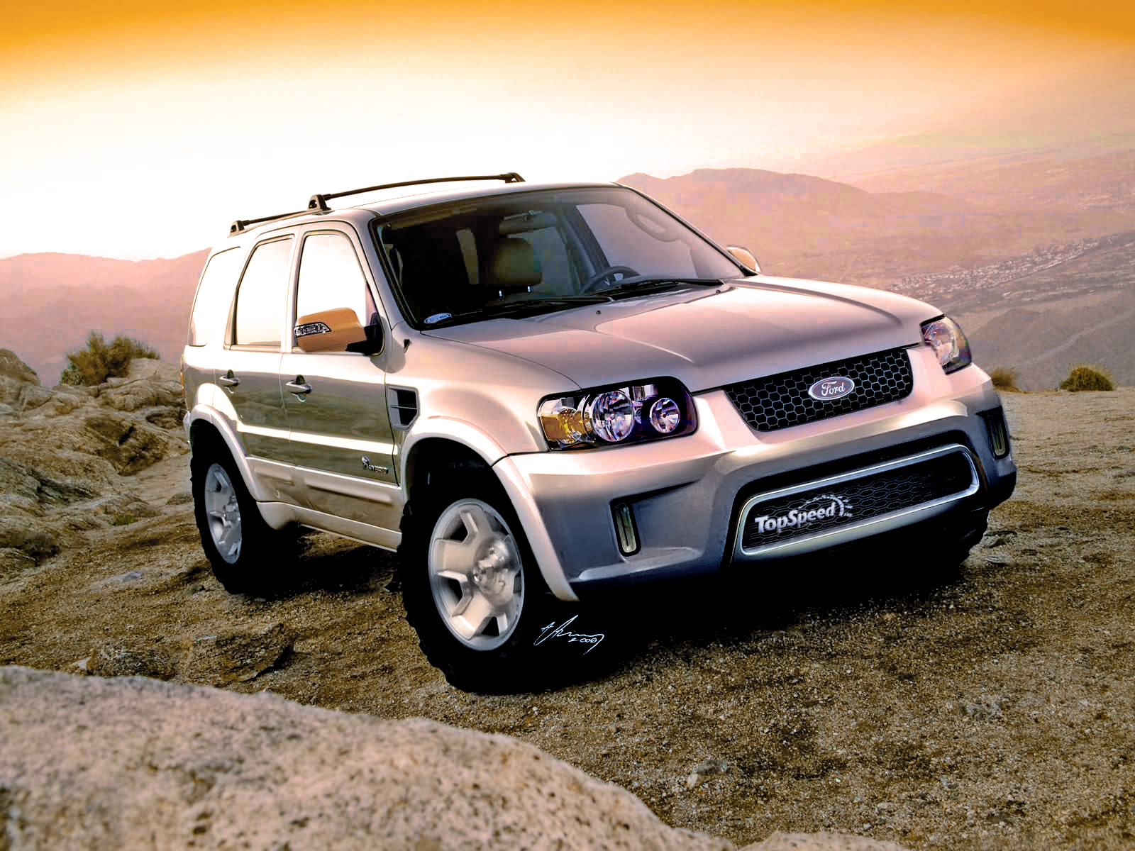 2007 Ford Escape Hybrid | Top Speed