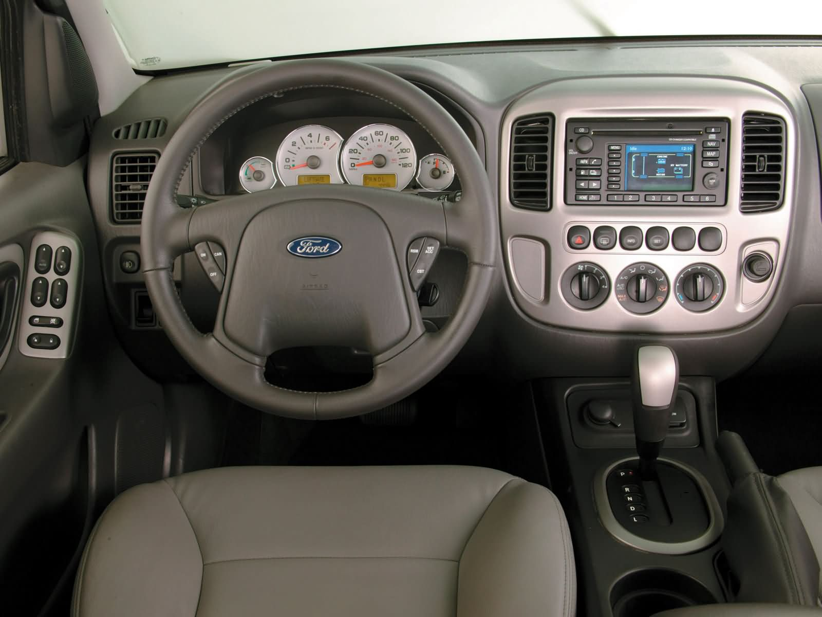 2007 ford escape hybrid top speed