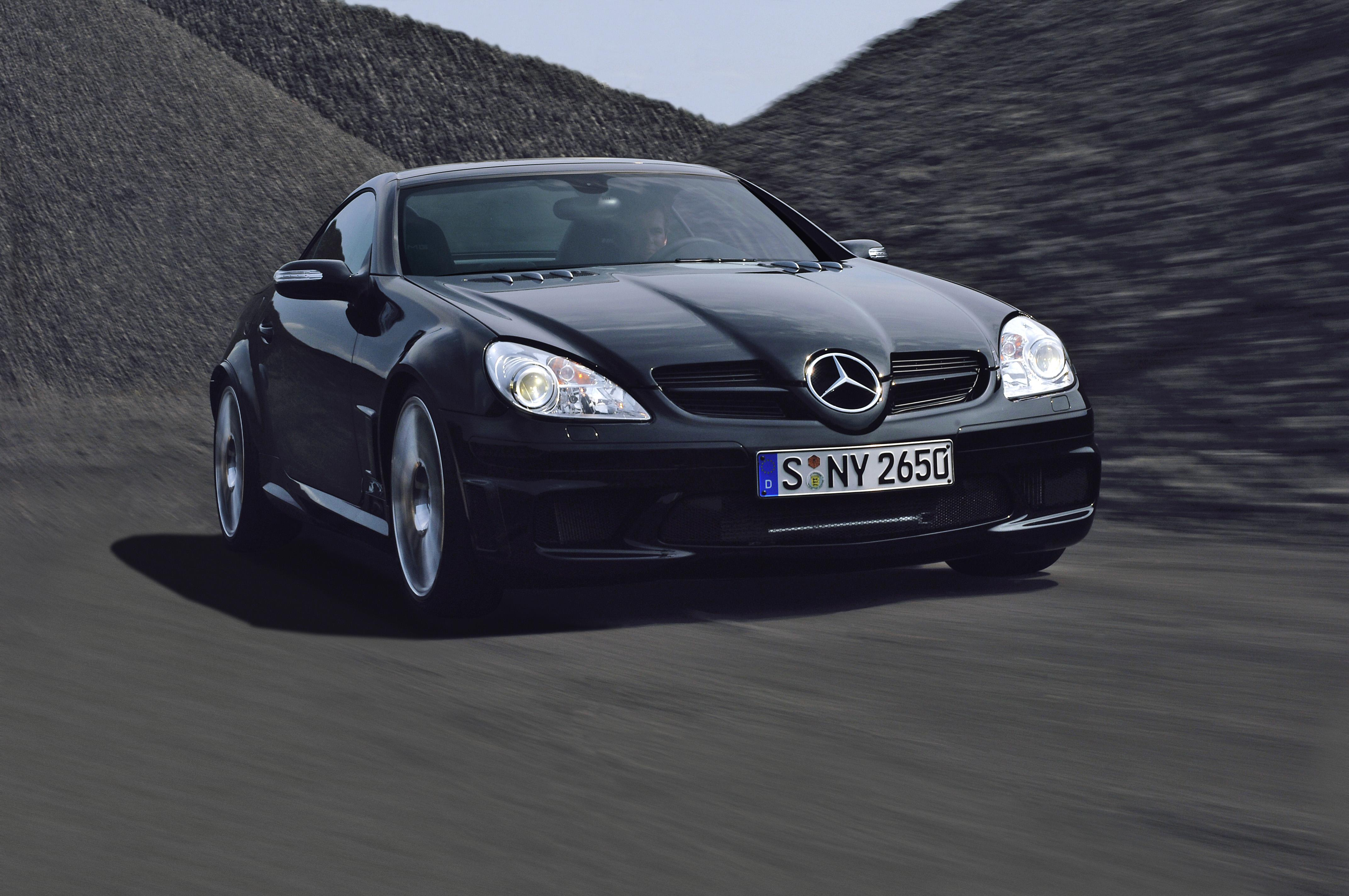 2007 mercedes benz slk 55 amg black series top speed. Black Bedroom Furniture Sets. Home Design Ideas