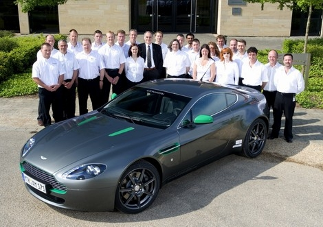Project 30000 A Special Celebration For Aston Martin Top Speed