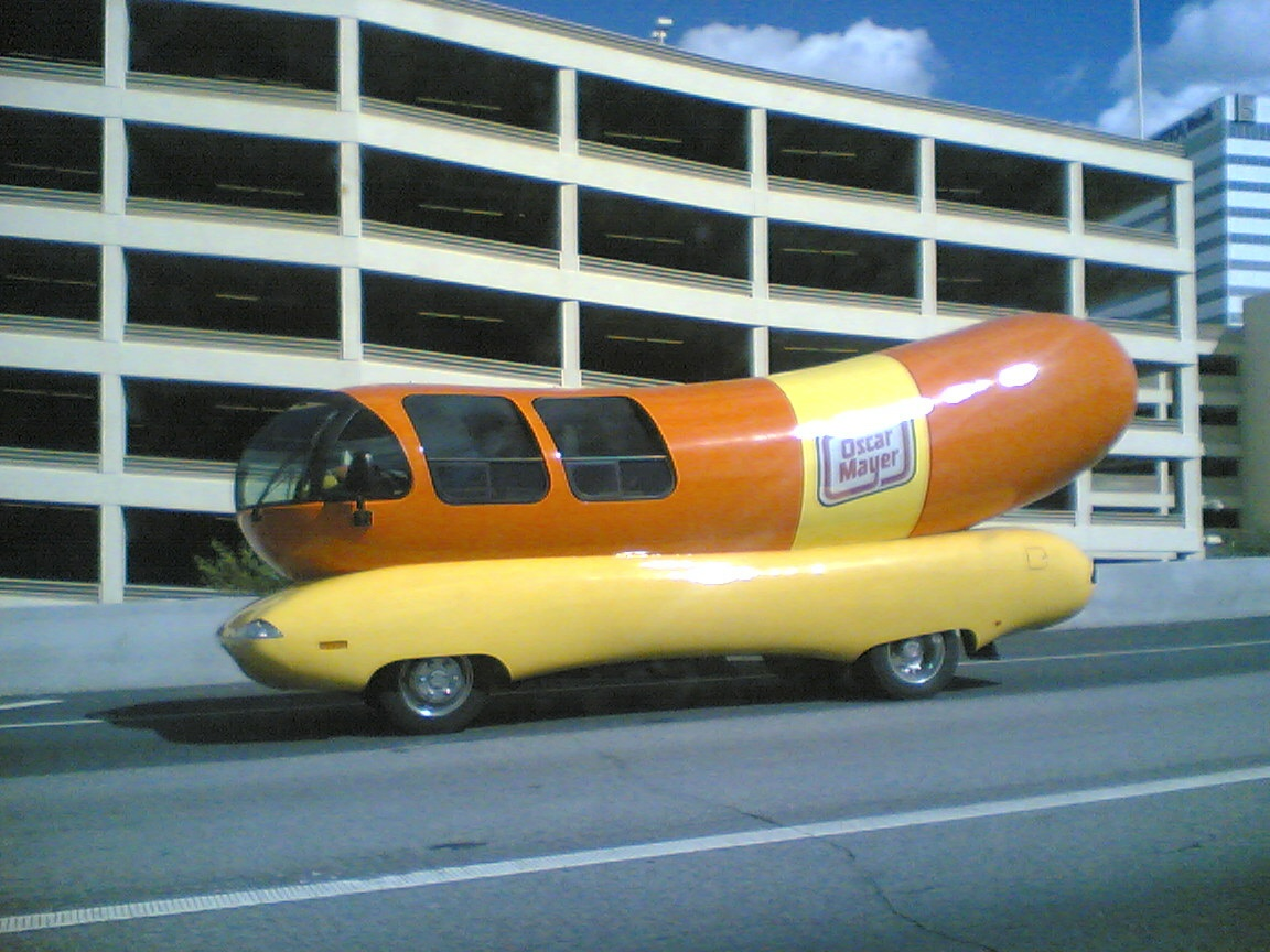 ment Page 1 besides Auto Biografia as well Oscar Mayers Wienermobile Skids Off Road Crashes moreover Wienermobile Cruises Oahu moreover Cc Outtake The Wienermobile. on how many wienermobiles are there