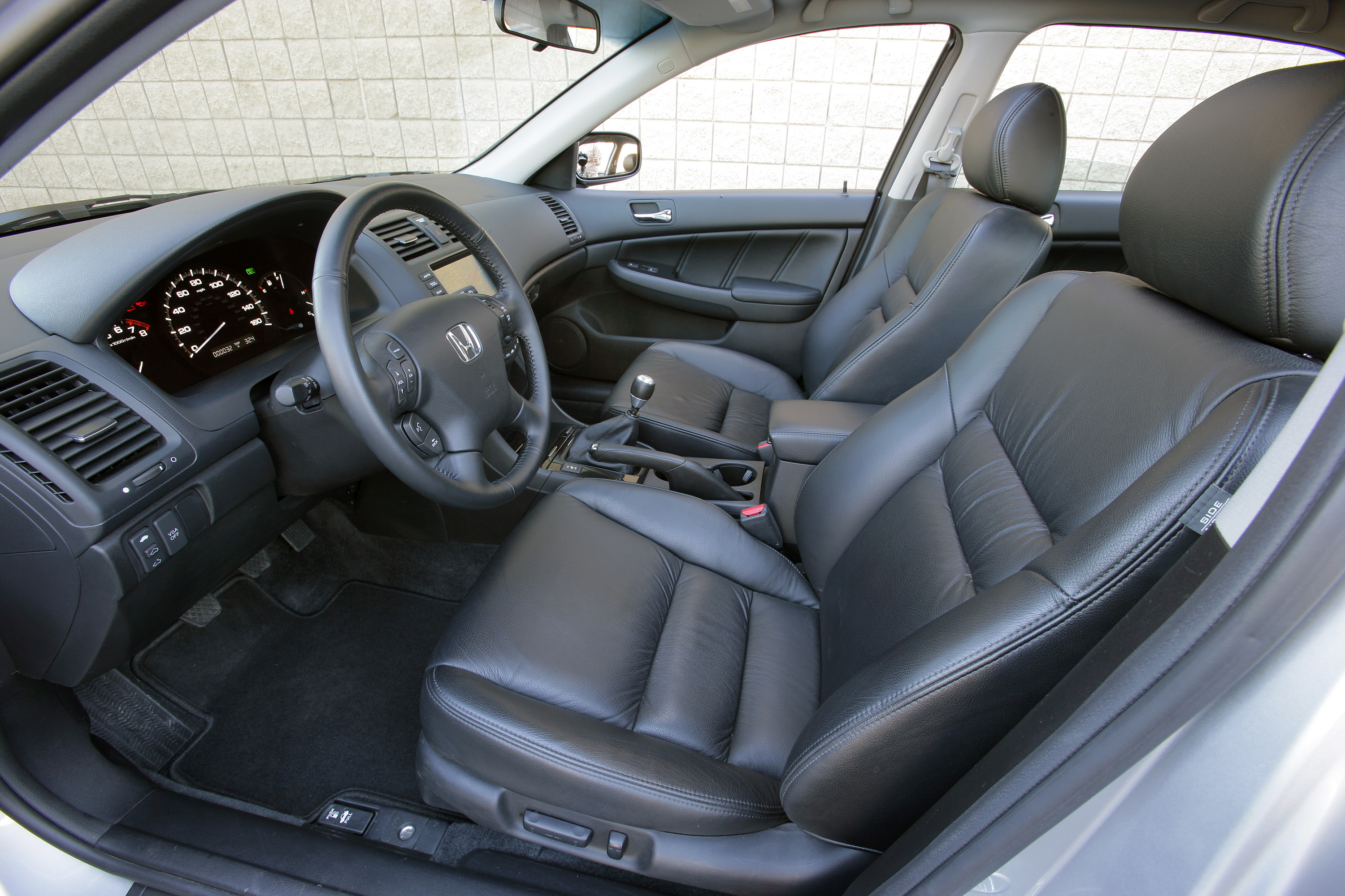 06 accord coupe leather