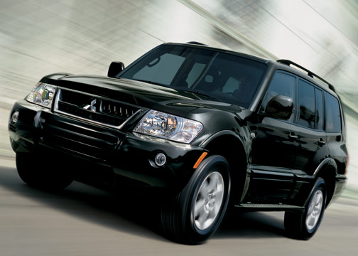 2006 mitsubishi montero review