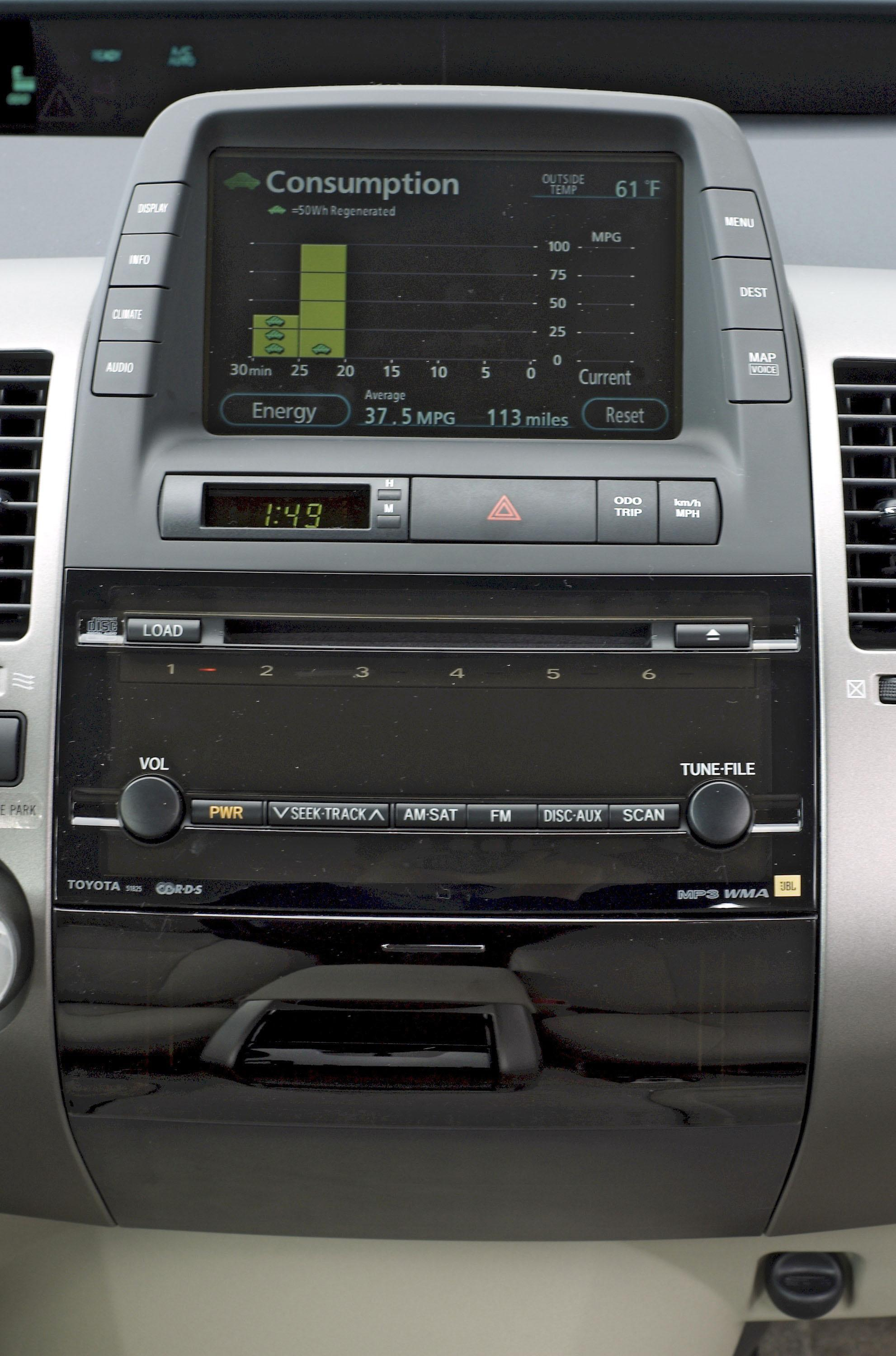 prius jbl sound system review