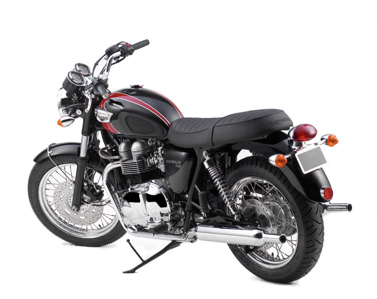 2006 Triumph Bonneville T100 | Top Speed