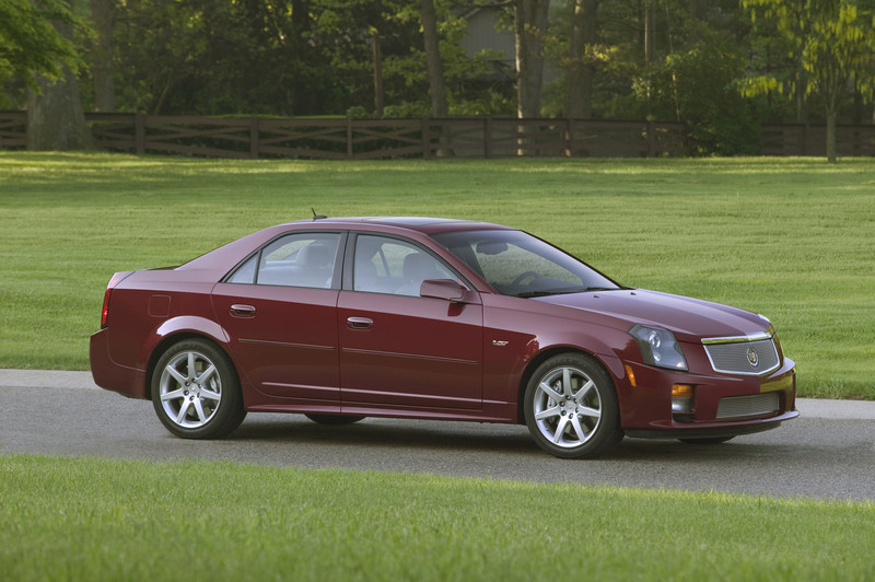 2007 Cadillac CTS-V | Top Speed
