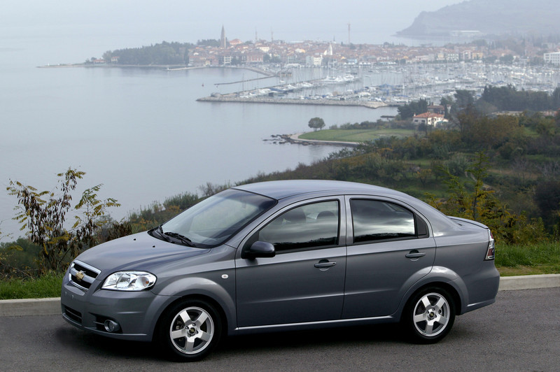 2007 Chevrolet Aveo Top Speed