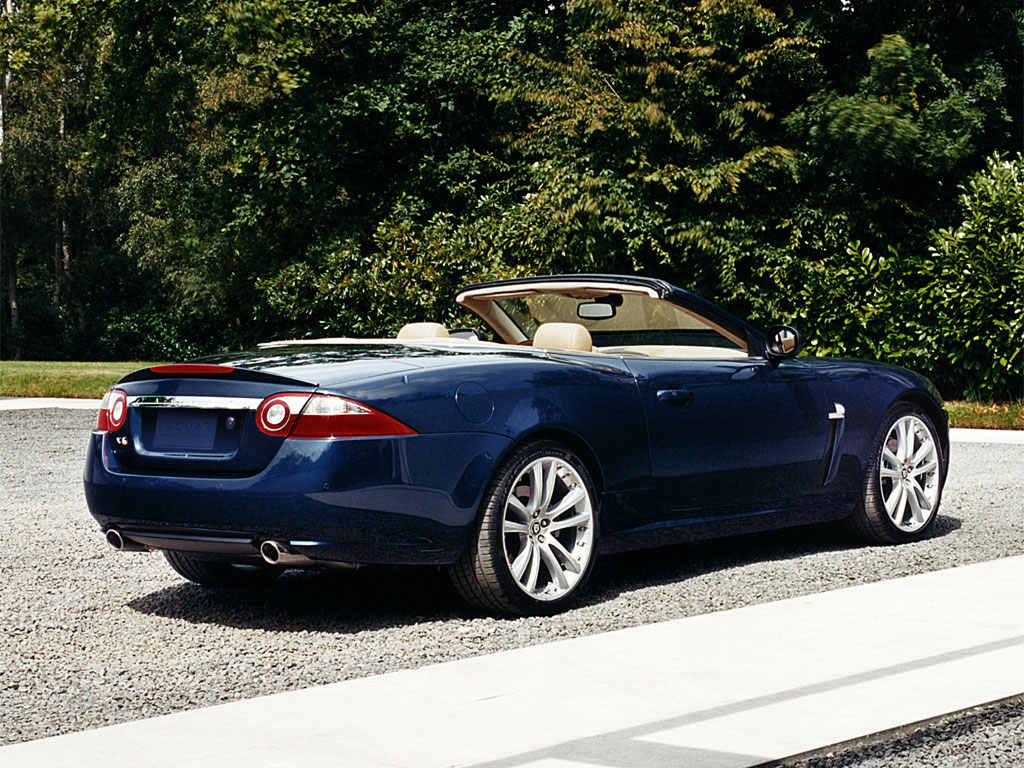 2007 Jaguar XK Convertible | Top Speed. »